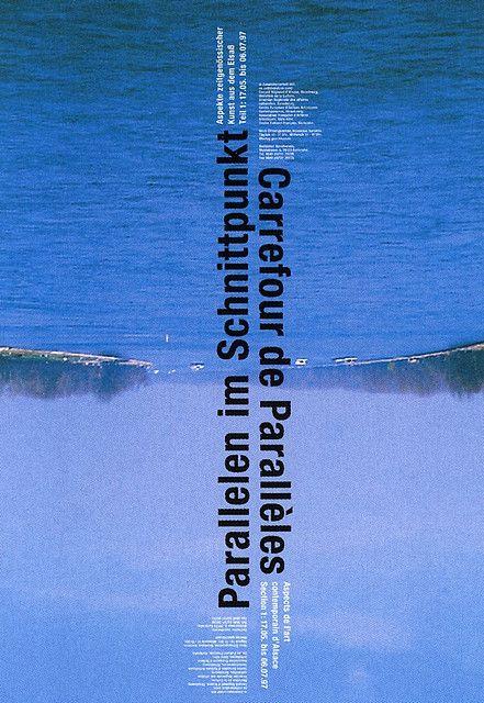 Parallelen im Schnittpunkt. Designed by Gerwin Schmidt