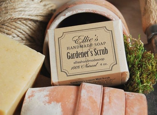 Gardeners Scrub Handmade Soap
