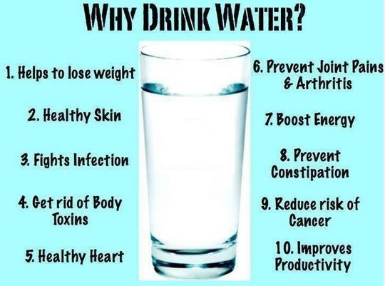 Why drink water? #health #tip #water