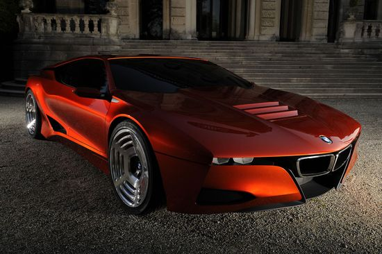 M1 Hommage Concept car revealed by BMW