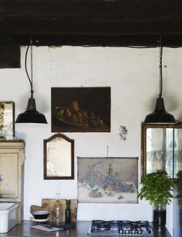 wall art in kitchen ?