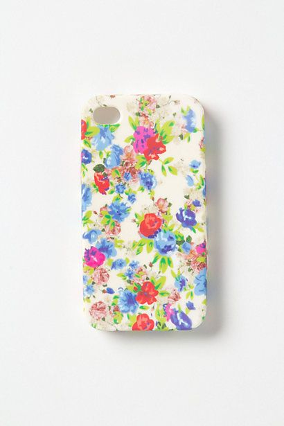 Floral iPhone Case by Anthropologie