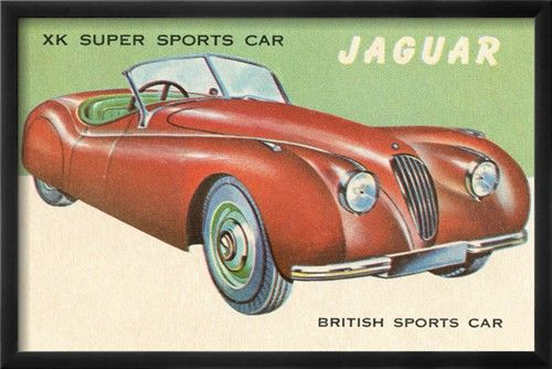Super Sports Car Poster