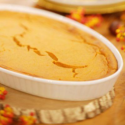 Sweet Potato Spoon Bread #ThanksgivingSides