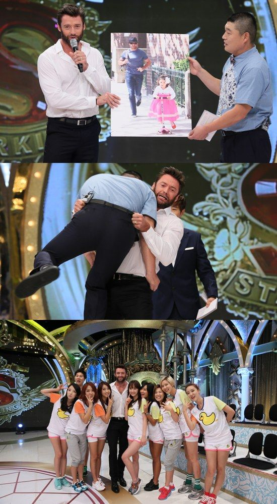 "'Wolverine' star Hugh Jackman Appears on Korean Variety Show ""Star King""   Watch it now"