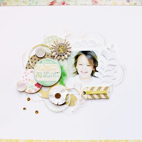 Stephanie Bryan - Crate Paper Creative Weekley June Challenge