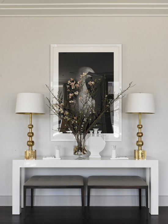 63 Modern Console Table Styling Inspiration Luxdeco Com Ideas Tables - Contemporary Console Table Decor Ideas