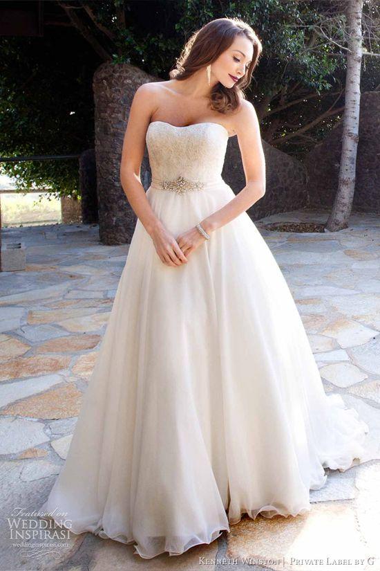 kenneth winston wedding dress 2013=im in love!