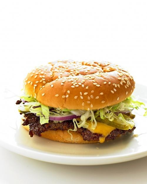 Old-Fashioned Cheeseburgers Recipe.  This is now my go-to way to cook burgers - yum!