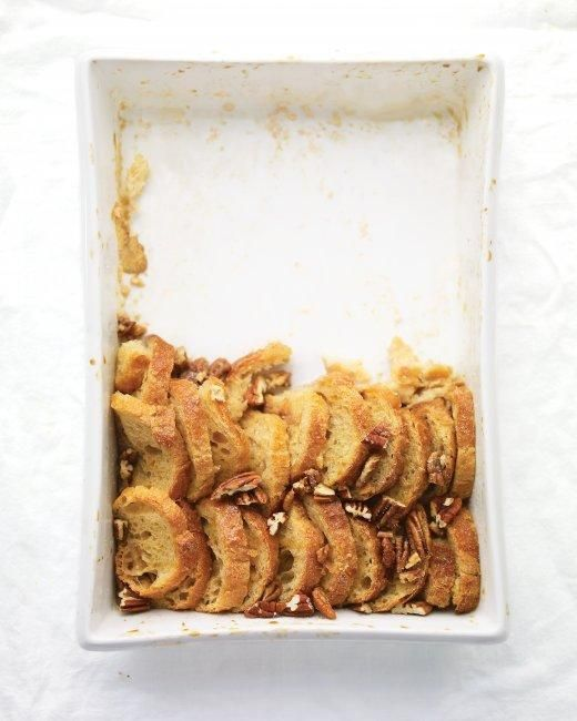 Maple-Pecan Bread Pudding Thanksgiving Dessert Recipe