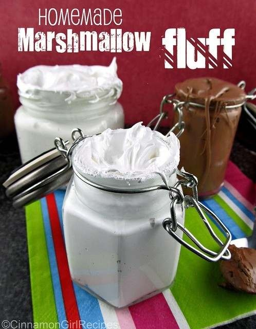Homemade Marshmallow Fluff Ashleycollier