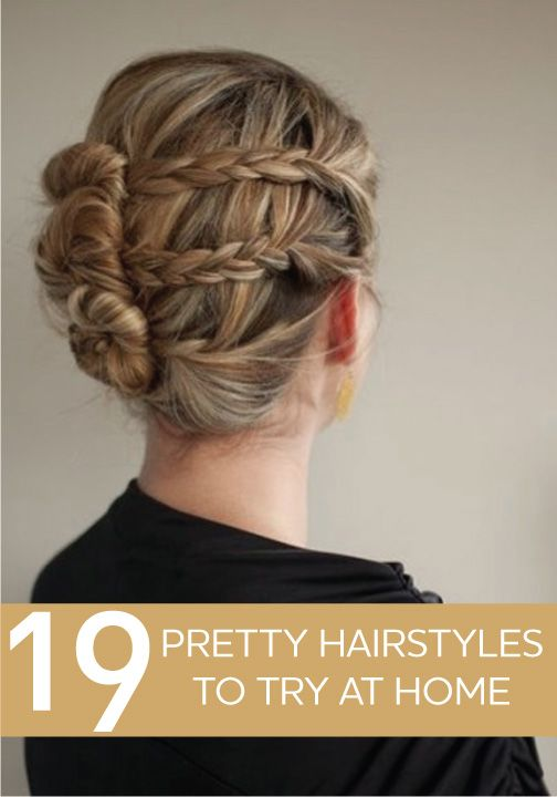 We love these pretty hairstyles! Try them for yourself!