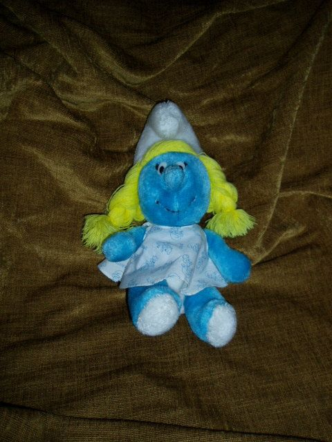 80s Smurfette - I had this doll