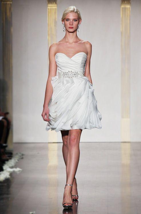Tara Keely short wedding dress, Spring 2012