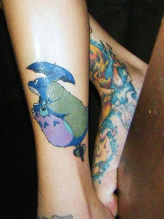 Umbrella Tattoo Design: The Cute Umbrella Tattoo Design And Meaning On Calf ~ tattooeve.com Tattoo Design Inspiration