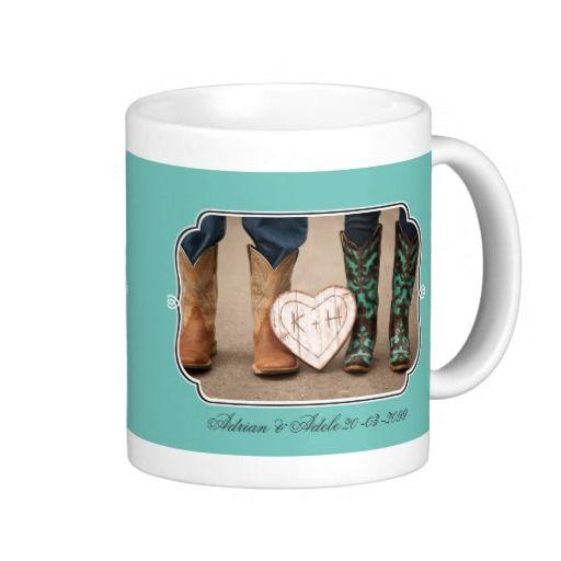 Wedding Photo's Framed Personalized Gift Mug