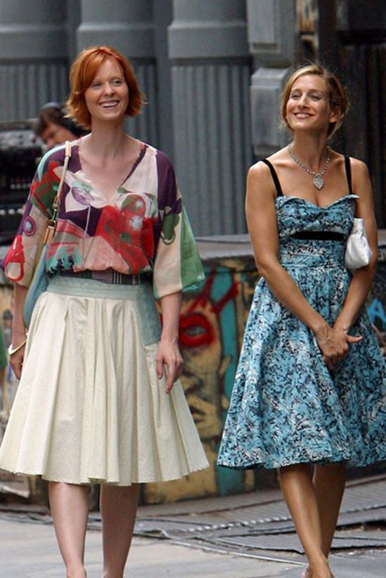 Carrie Bradshaw and Miranda Hobbes 2, Sex and the City
