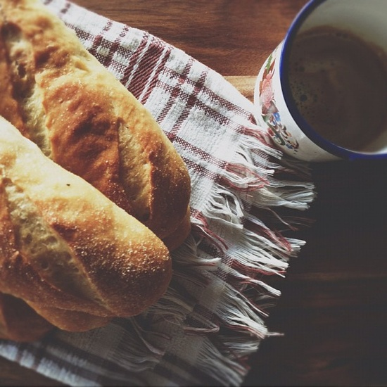 Lemon pepper handmade bread by #indielunch #bread #tabletop#coffee #morning #breakfast #vscocam