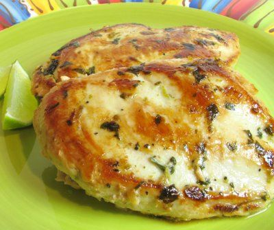 Cilantro and Lime Chicken Breast