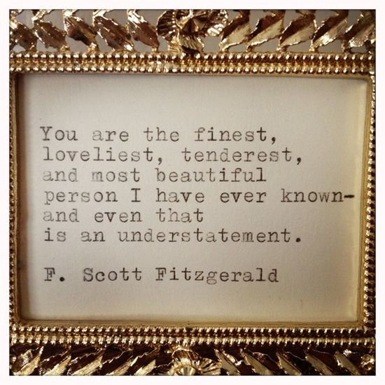 Fitzgerald Quotes: Awesome Inspiration Quotes: F. Scott Fitzgerald Quote