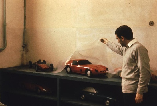 (1971 Ferrari Factory, Maranello, Italy) Ed Niles
