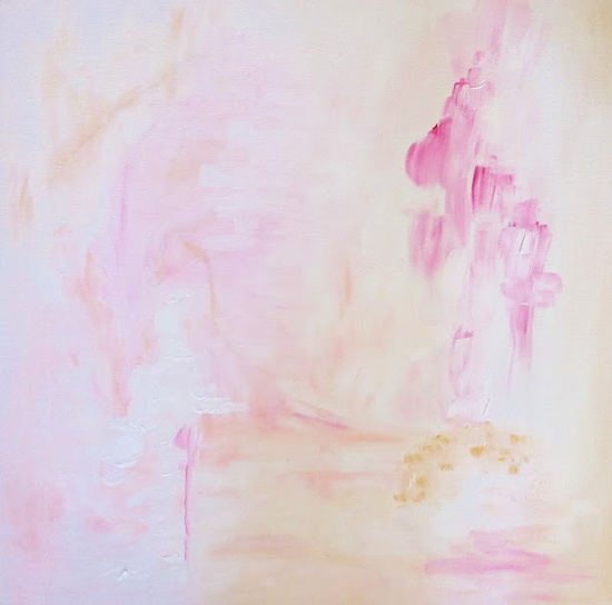 Lovely abstract painting by @Christine Smythe of Bijou and Boheme