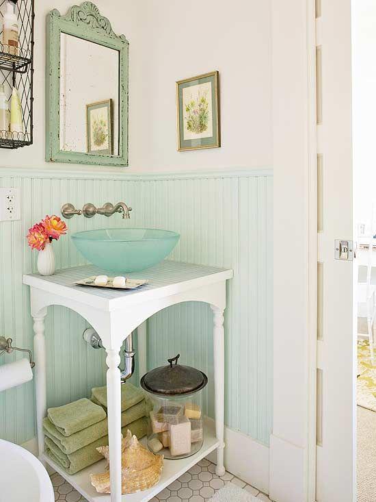 Small-Bath Storage Ideas