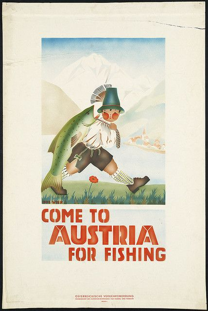 Come to Austria for fishing by Boston Public Library, via Flickr