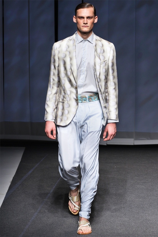 Etro menswear Spring Summer 2013 collection