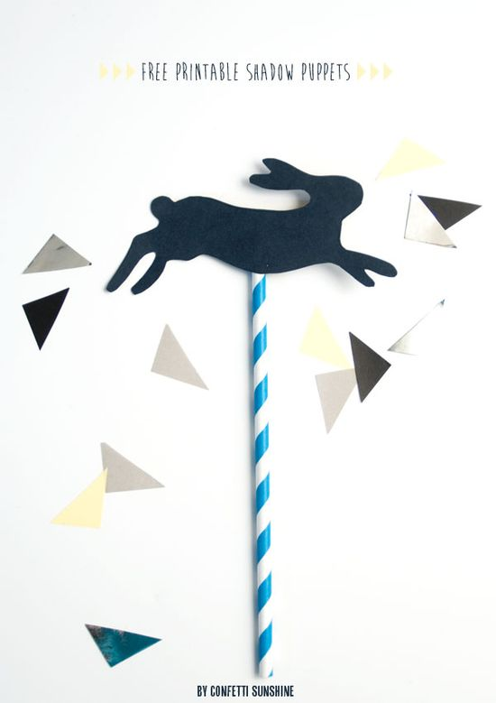 Free Printable Shadow Puppets