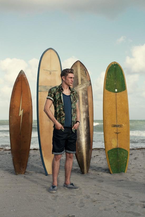 JACK & JONES VINTAGE CLOTHING Summer 2013 Campaign