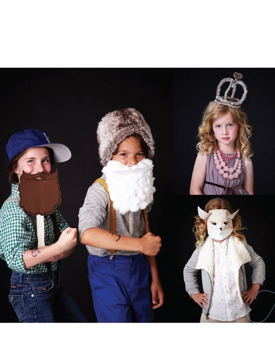 DIY Cute Kids Costums