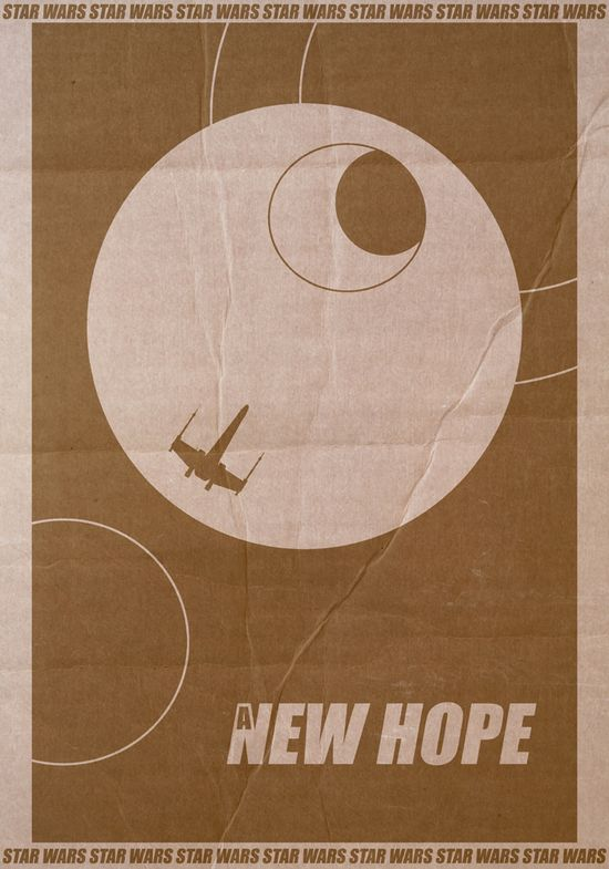 Star Wars New Hope Poster by ~StuntmanKamil
