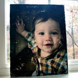 Distressed Photo Canvas