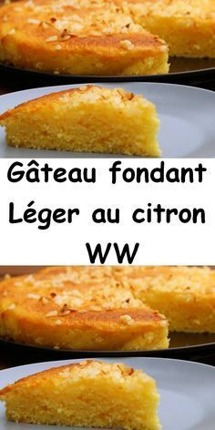 Découvrez la recette Weight Watchers du Gâteau fondant Léger au citron WW, simple et facile à réaliser Chez vous.