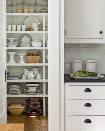 storage near kitchen