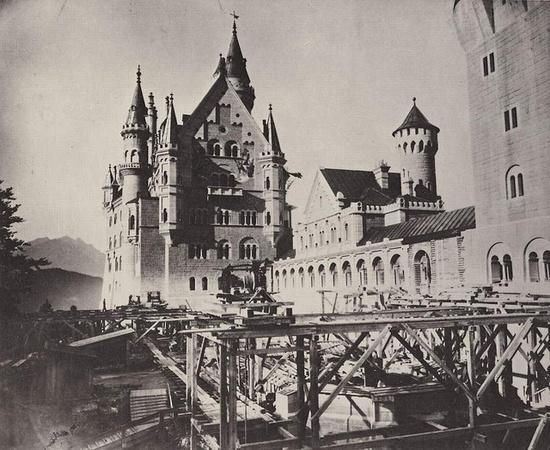 Neuschwanstein Castle - Joseph Albert, 1886