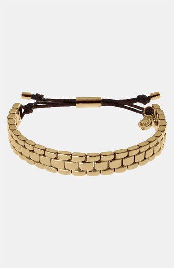 Michael Kors Link Stretch Bracelet available at #Nordstrom