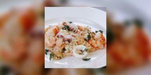 Recette de risotto aux fruits de mer avec e-sante.fr