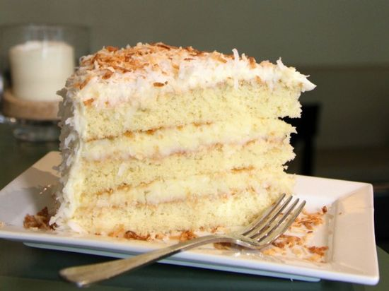 Coconut Cake : Recipes : Cooking Channel