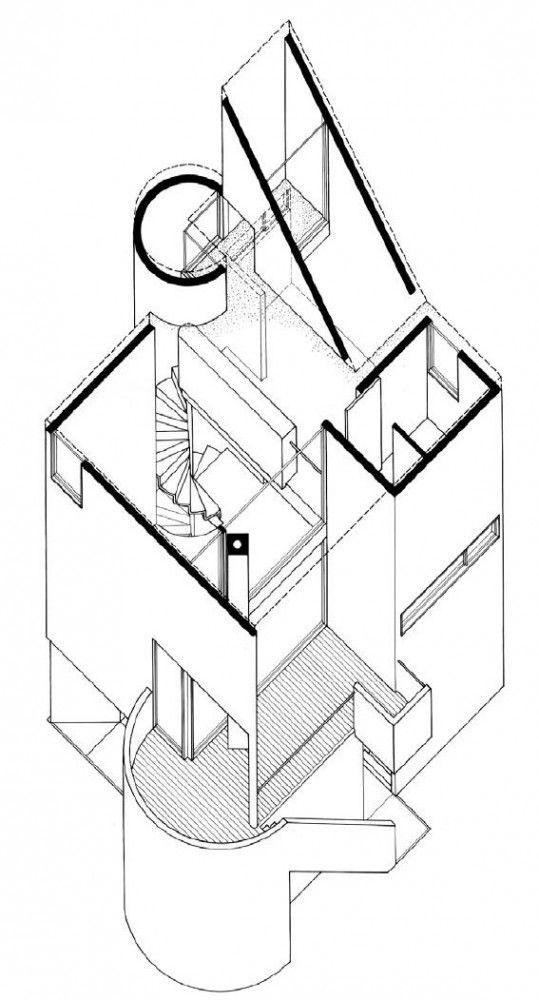 Gwathemy Residence and Studio, Charles Gwathmey