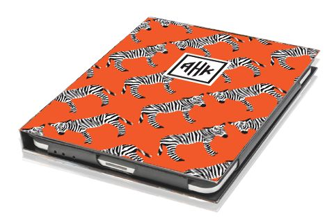 Zebra ipad cover by Nico and LaLa