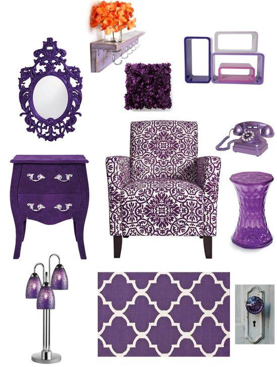 Purple Bedroom Inspiration