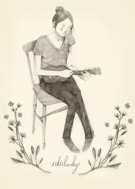 {Ukulady} by Clare Owen