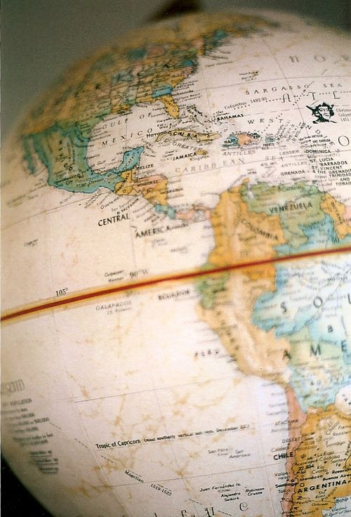 #travel #globe