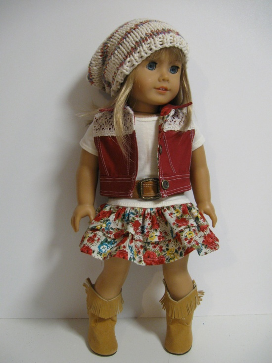American Girl Doll --Southwest Sweetie. $38.00, via Etsy.