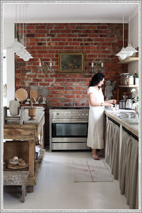 Get the Look: South Africa Serenity #Kitchen #Interior #Neutral