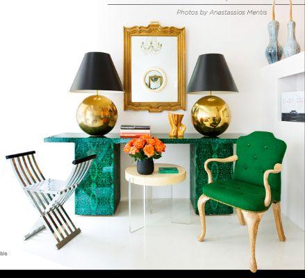 emerald #zincdoor #emerald #artdeco #malachite
