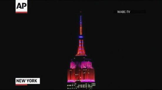 Raw: Empire State Building Light Show, Eu Travel Tips