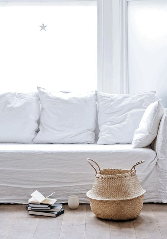 ♥ How to make a sofa cover simple and beautiful